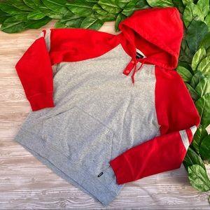 Brixton Hoodie Sweatshirt Skater Hooded Sweater L